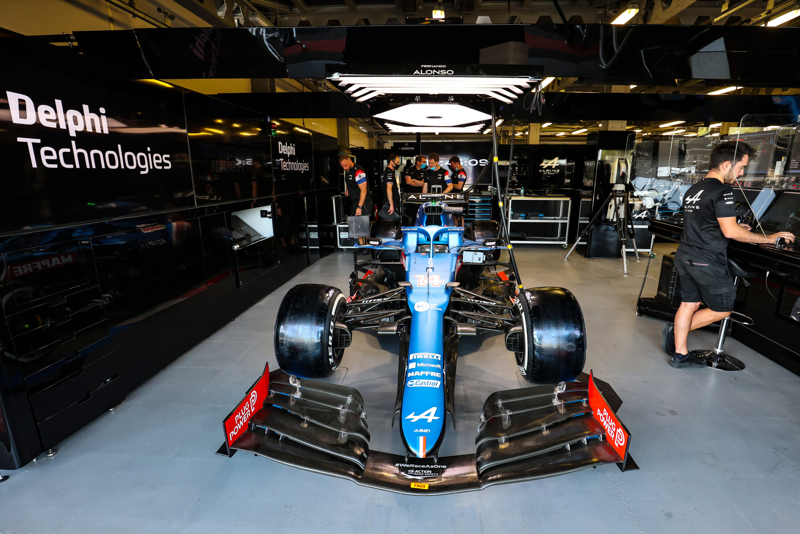 F1 - Alpine F1 signe un partenariat avec BorgWarner