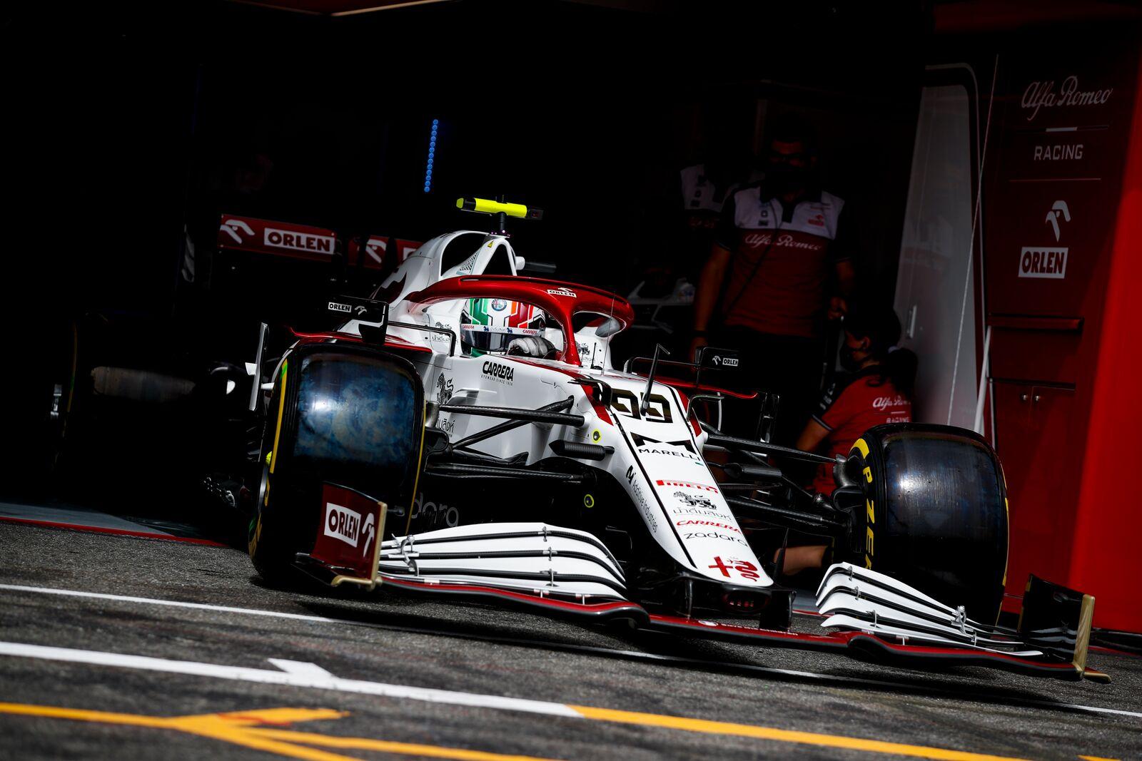 F1 - Alfa Romeo avec une livrée spéciale au Grand Prix de Styrie