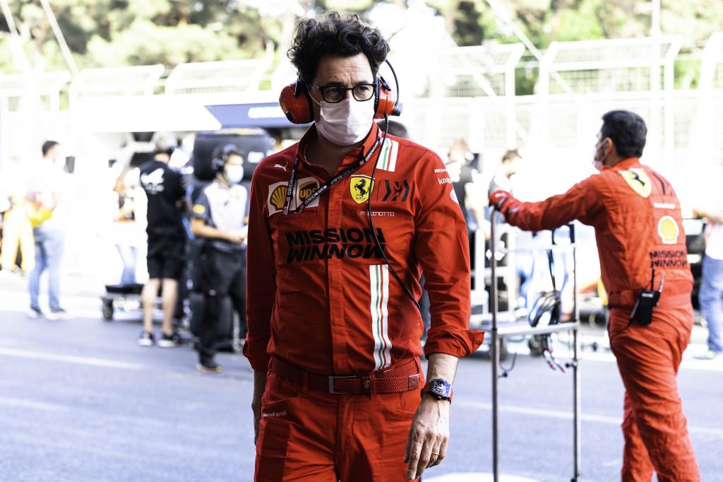 F1 - Un peu déçu, Binotto s'attendait à mieux pour Ferrari à Bakou
