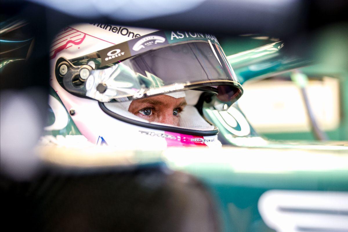 """F1 - Vettel : """"l'objectif est de continuer à marquer des points"""""""