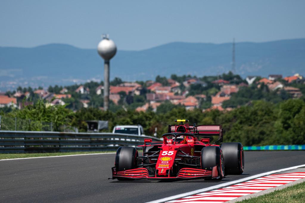 F1 - Sainz aimerait un peu de pluie pour les qualifications à Budapest