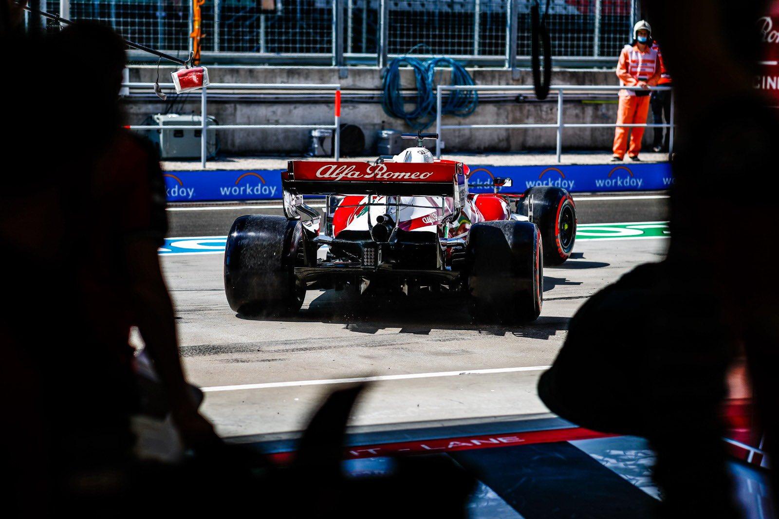 F1 - Officiel : Alfa Romeo à l'amende au GP de Hongrie