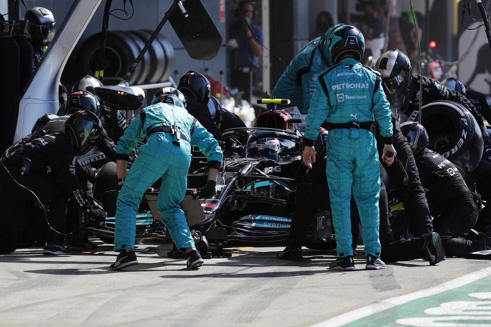 F1 - Bottas privé de boisson en course à Silverstone