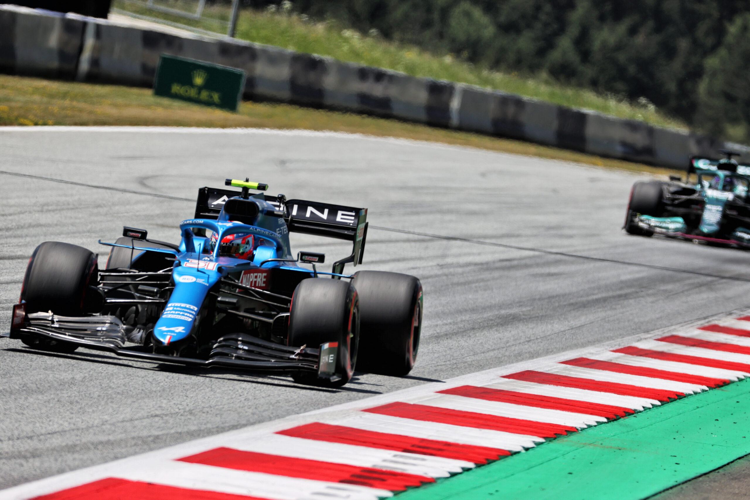 F1 - Des qualifications frustrantes pour Alpine F1 en Autriche