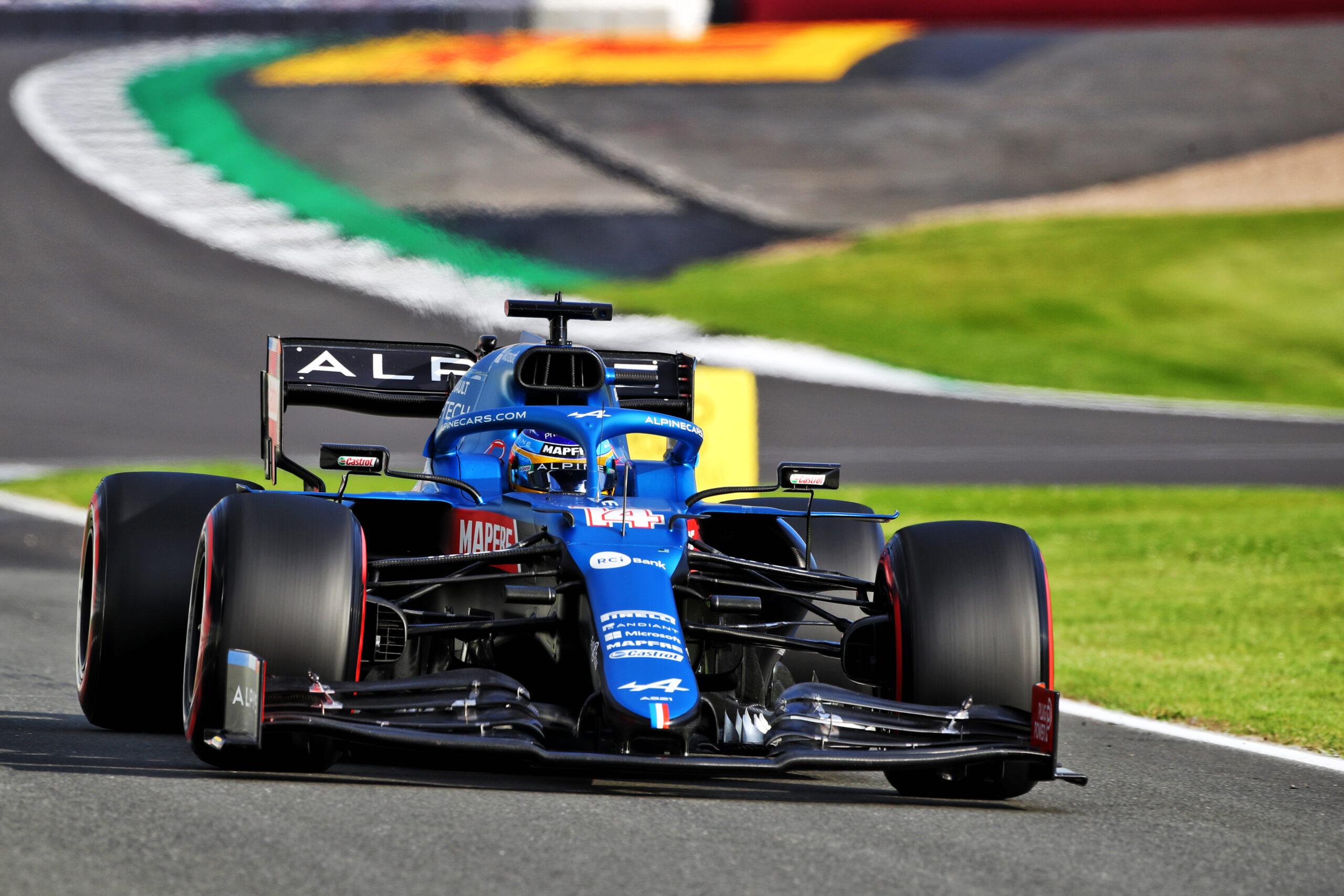 F1 - Les deux Alpine hors du top dix au départ de la course sprint