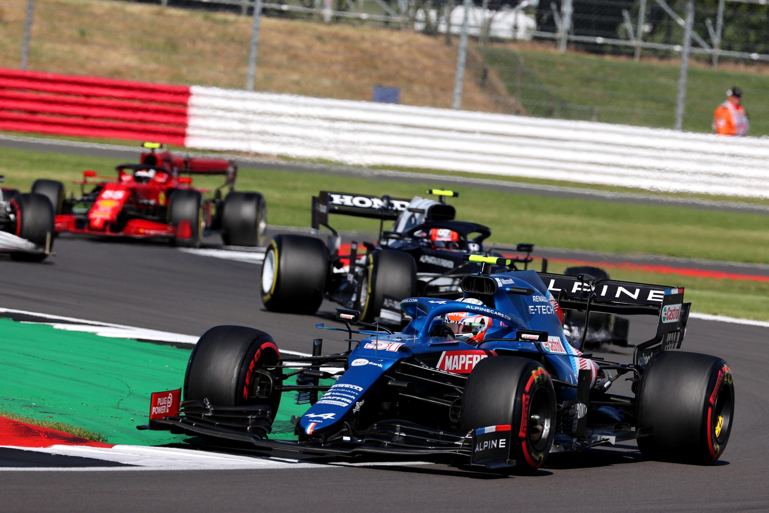 F1 - Double ration de points pour Alpine F1 à Silverstone