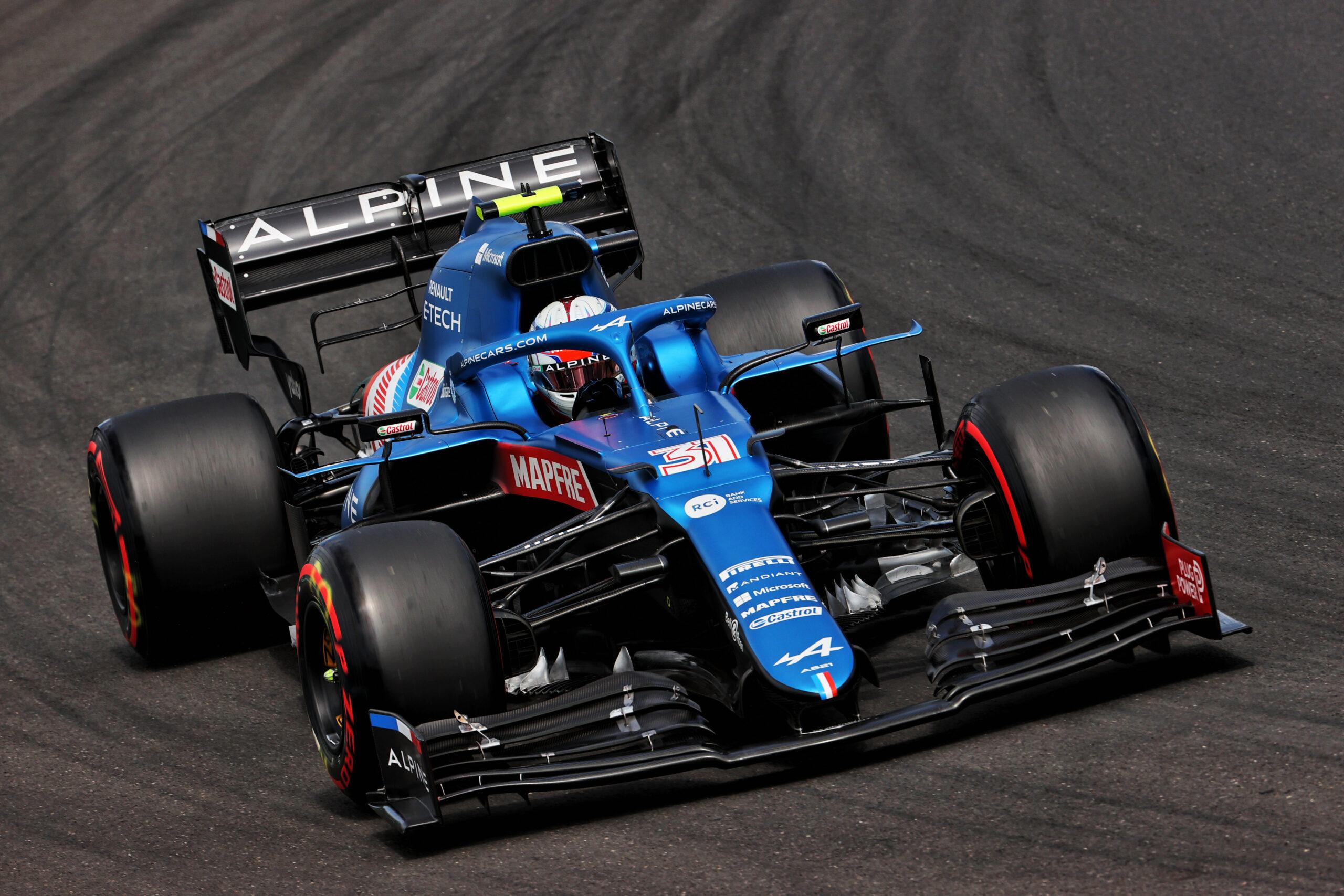 F1 - Les deux Alpine dans le top dix sur la grille à Budapest