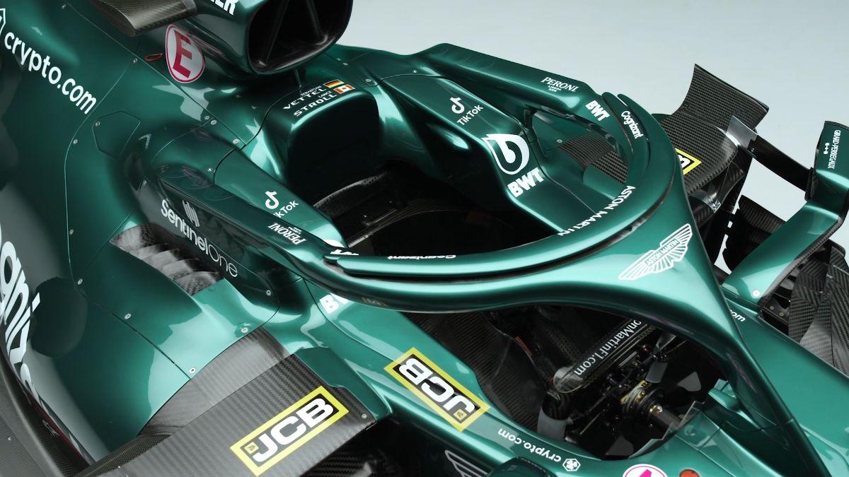 F1 - Le logo TikTok s'invite sur la carrosserie de l'Aston Martin en F1