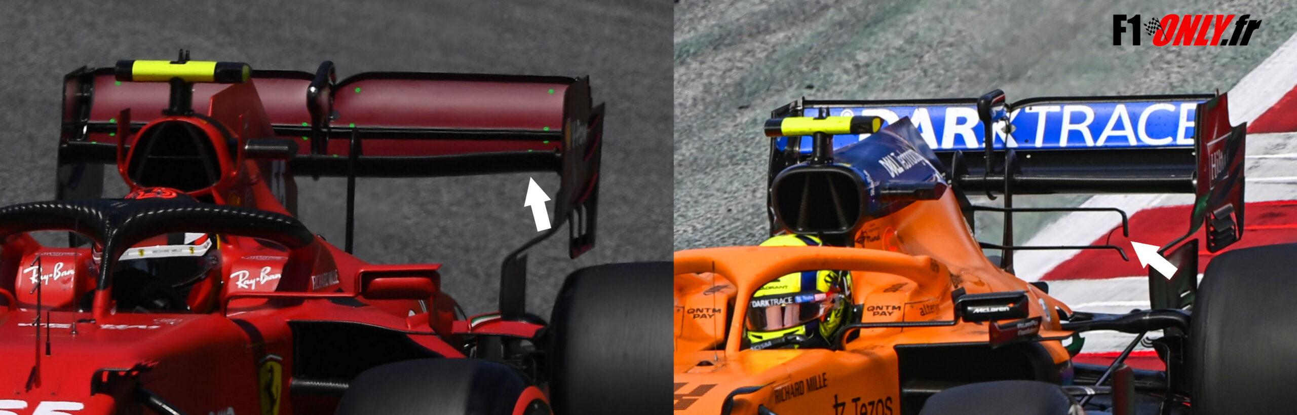 F1 - Tech F1 : nouveau fond plat chez Ferrari et McLaren en Autriche