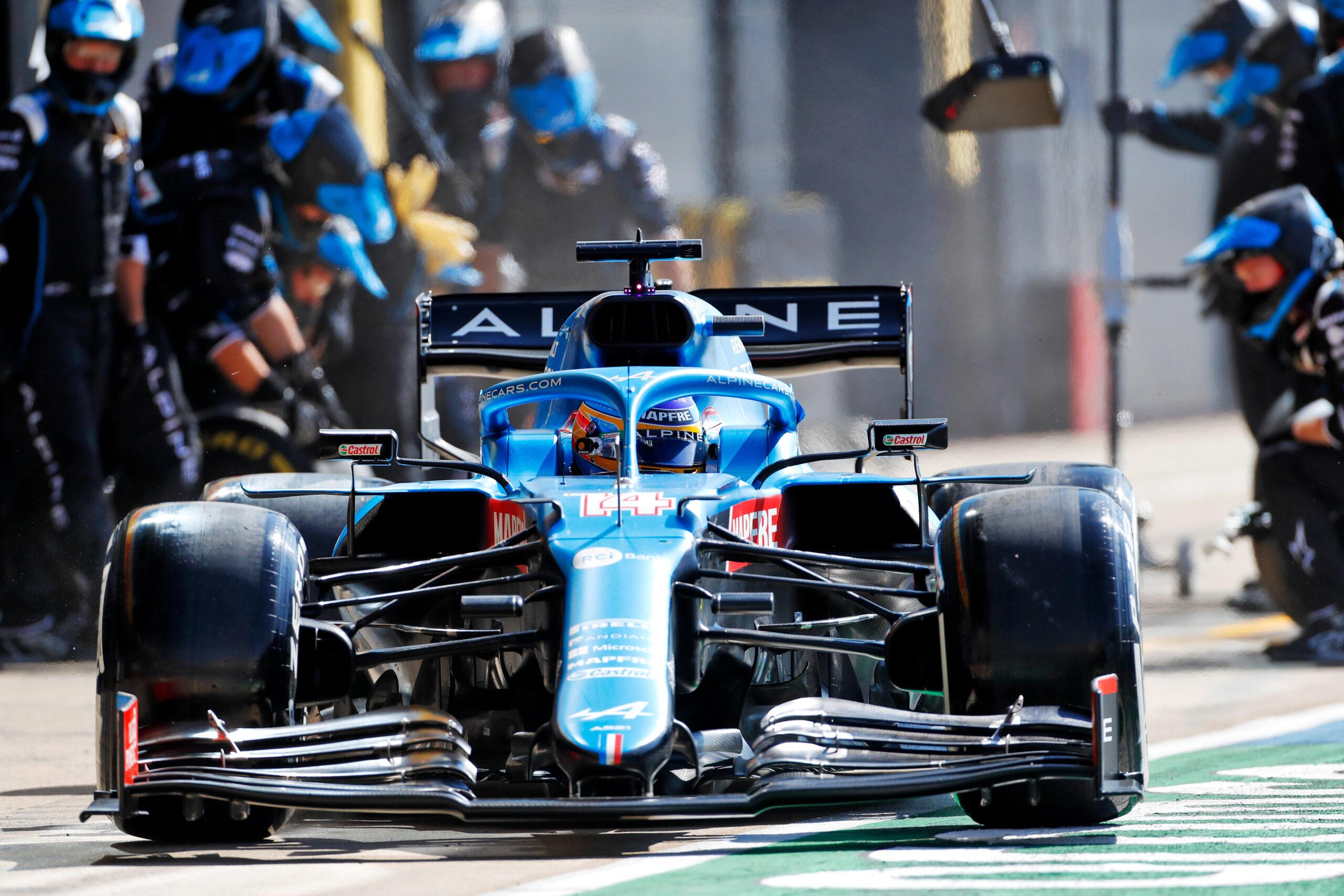 F1 - Alpine F1 ne peut pas se satisfaire d'une septième place