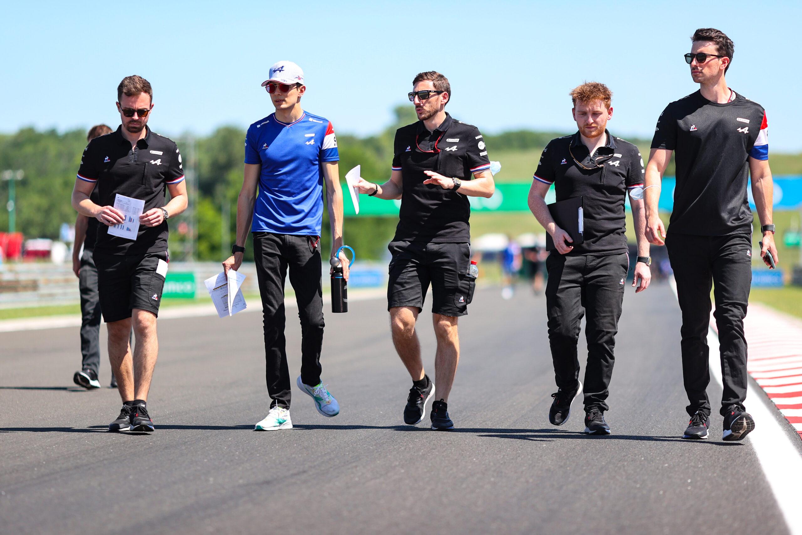 F1 - Ocon soulagé d'avoir retrouvé de la performance avec un nouveau châssis