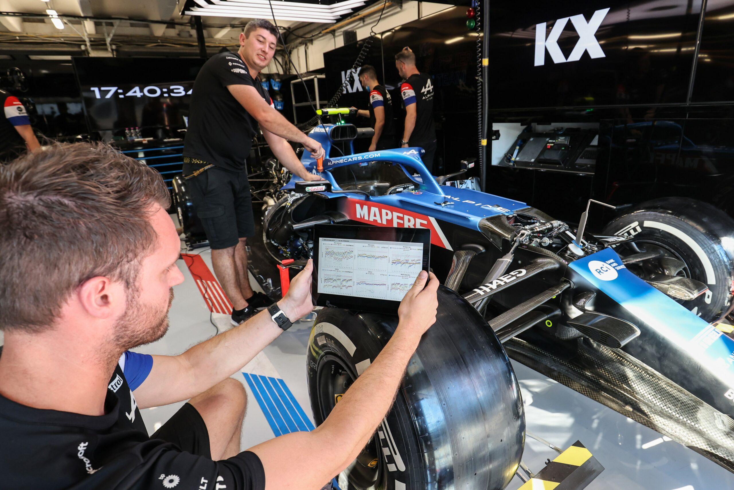 F1 - Alpine F1 signe un partenariat avec la société KX