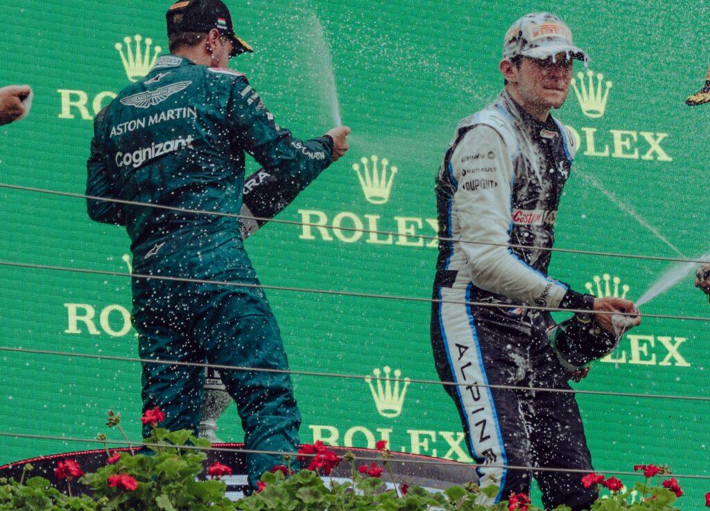 Sebastian Vettel : «Esteban a fait la différence»