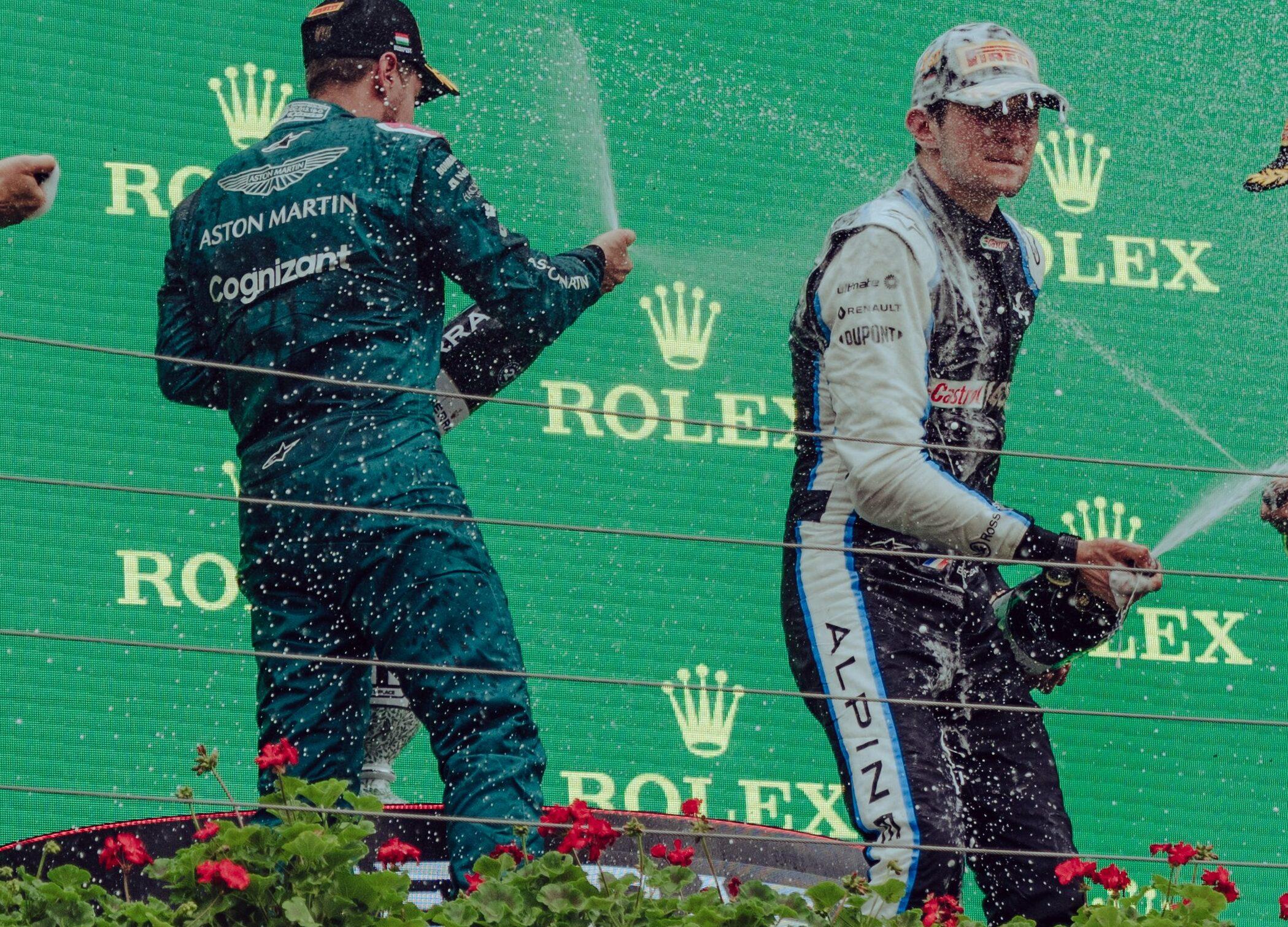 """F1 - Sebastian Vettel : """"Esteban a fait la différence"""""""