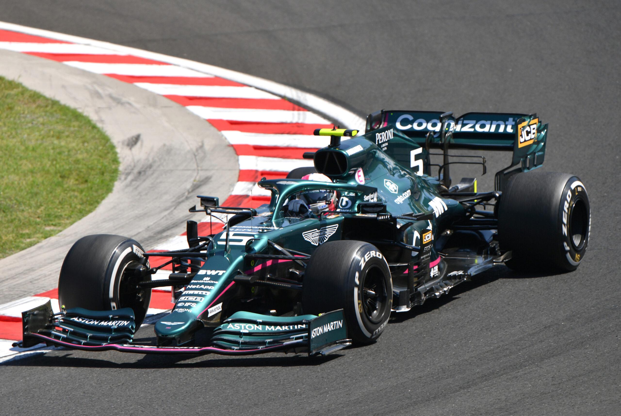 F1 - Officiel : l'Aston Martin de Vettel placée sous scellé