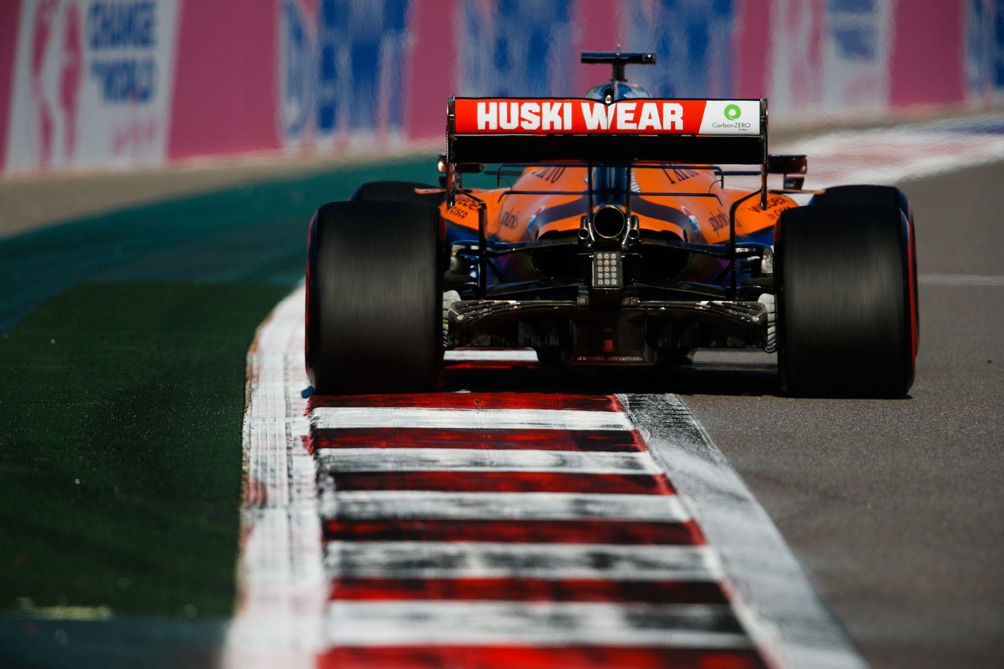 F1 - Un vendredi compliqué pour les pilotes McLaren à Sotchi