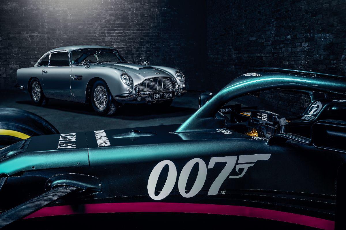 F1 - Aston Martin aux couleurs de James Bond ce week-end à Monza