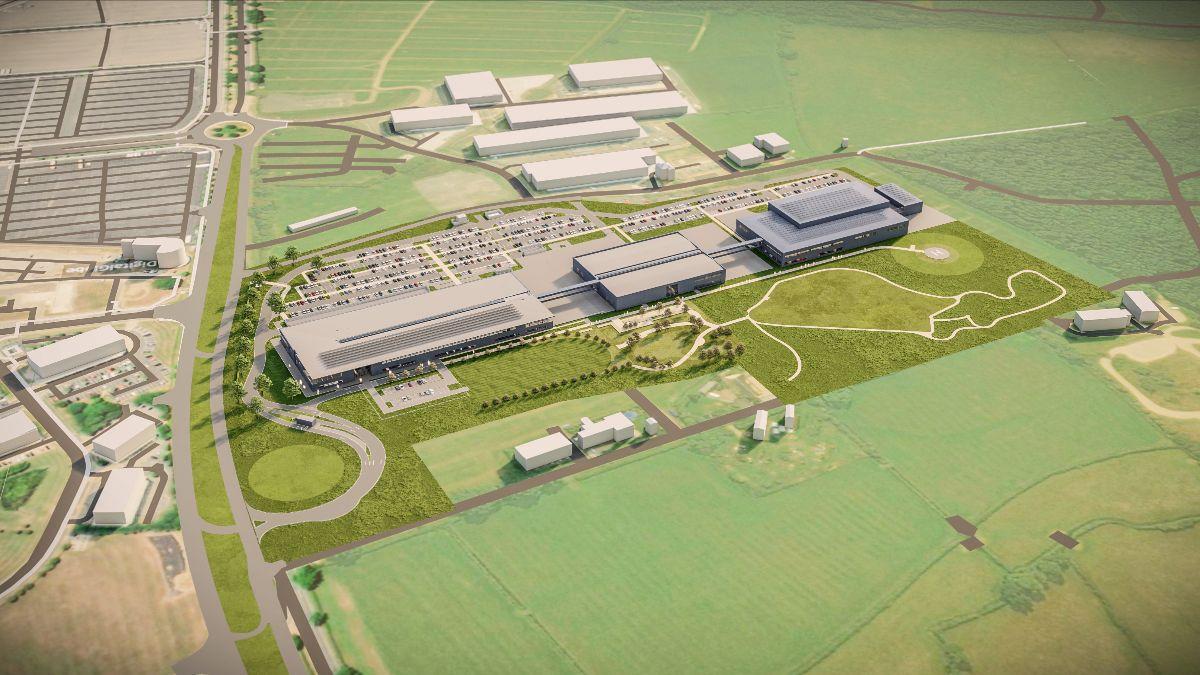 F1 - La construction de la nouvelle usine Aston Martin a débuté