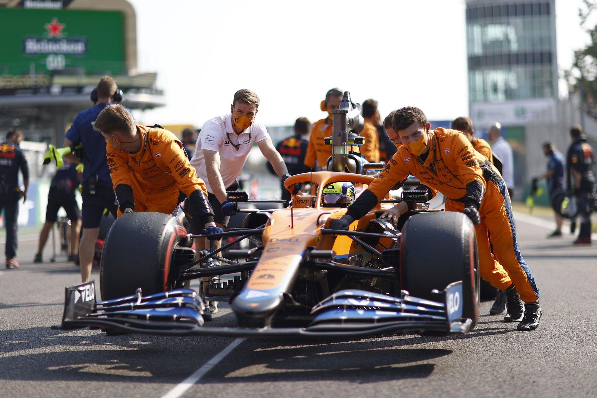 F1 - Après son doublé à Monza, McLaren veut garder les pieds sur terre