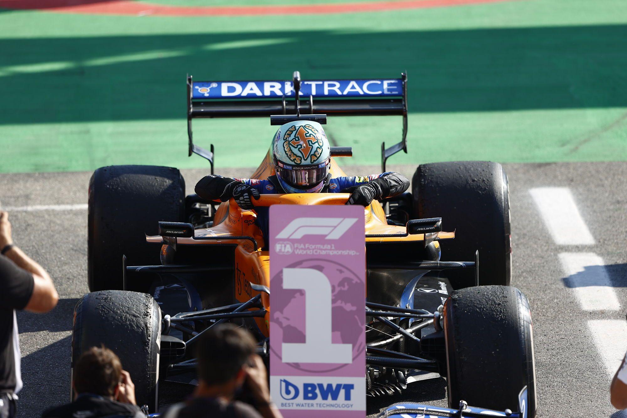 F1 - Ce dimanche, McLaren a décroché sa première victoire depuis...2012