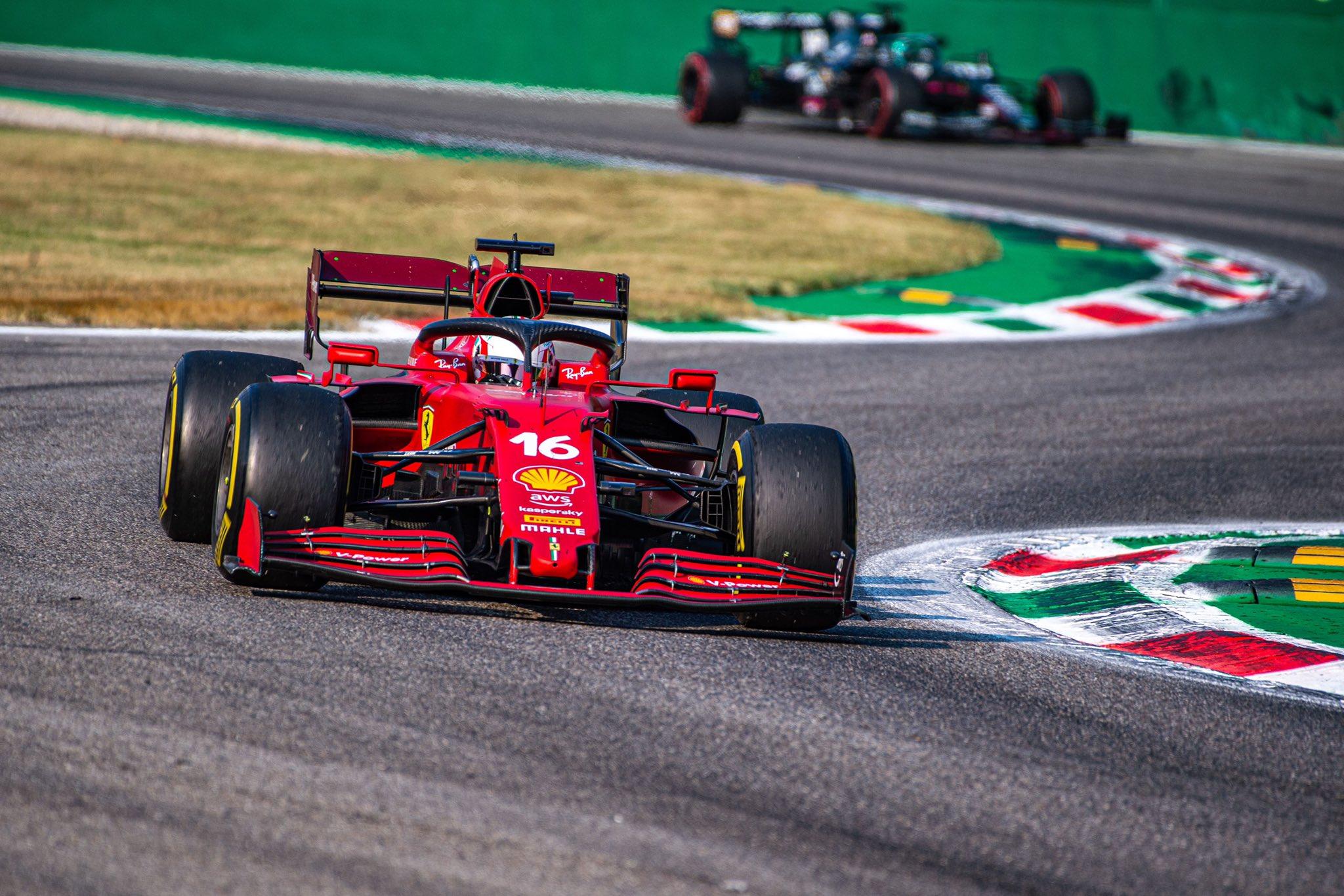 F1 - Ferrari remonte le moteur du vendredi dans la monoplace de Leclerc