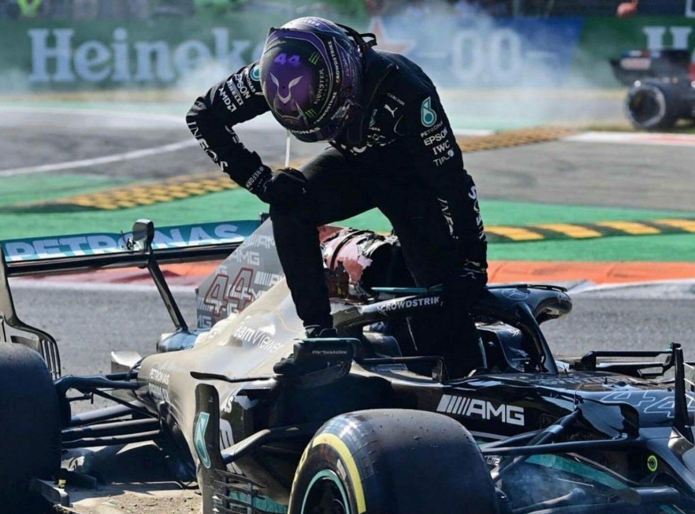 F1 - Marko minimise toujours l'accident entre Verstappen et Hamilton à Monza