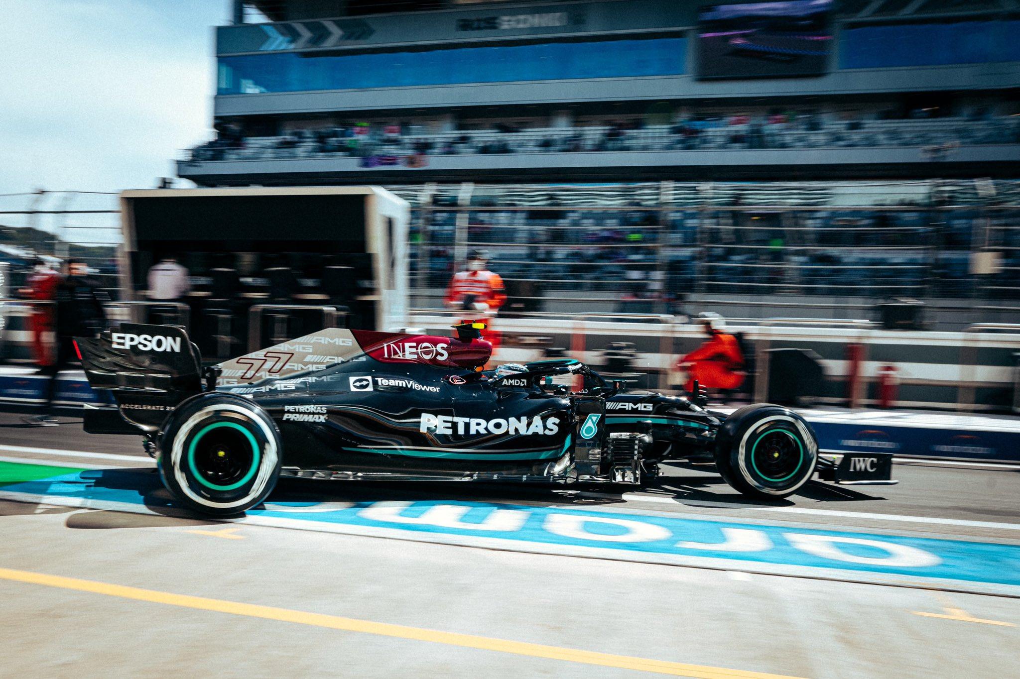 F1 - GP de Russie - EL1 : Valtteri Bottas mène un doublé Mercedes à Sotchi