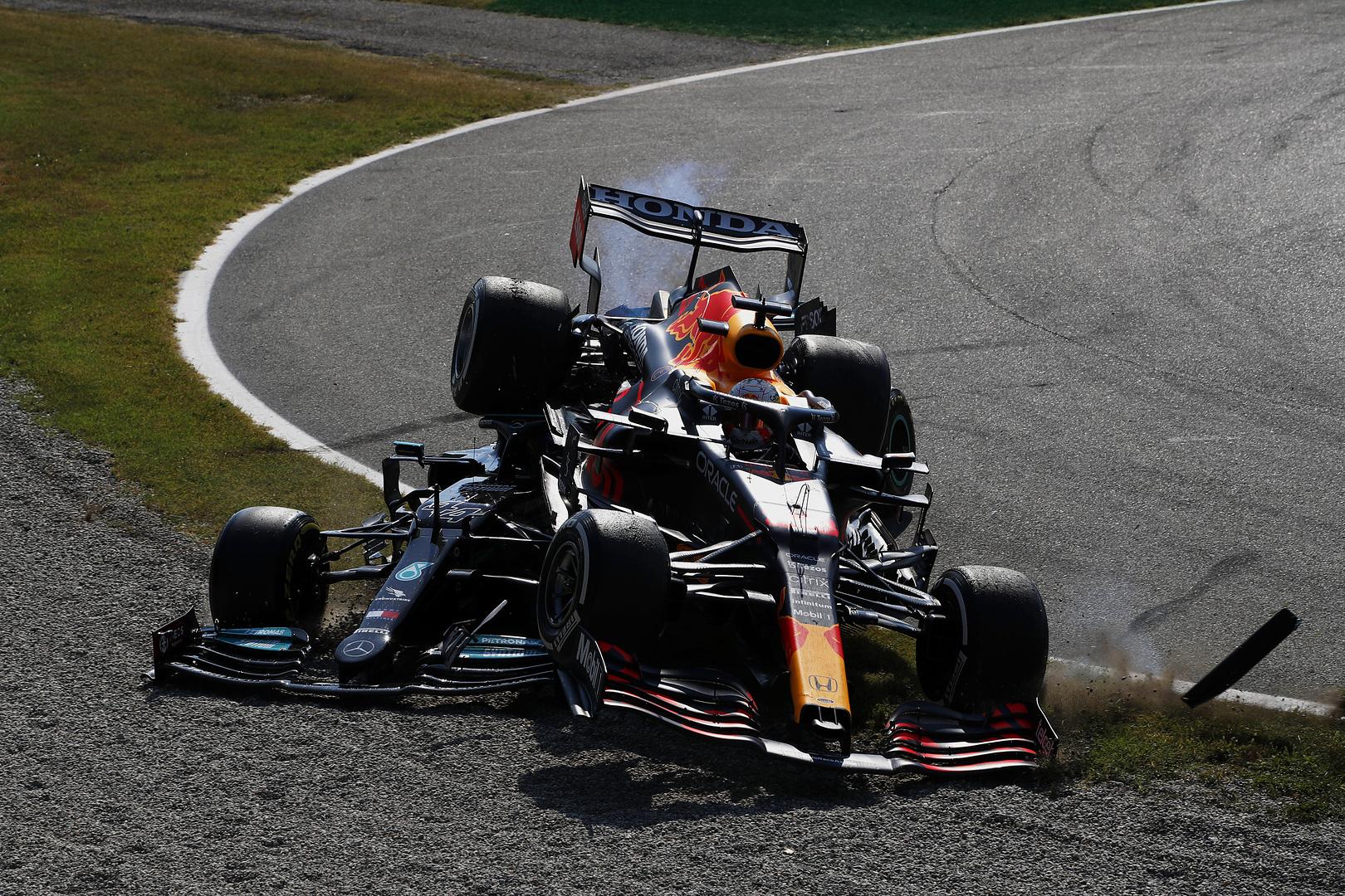 """F1 - Lewis Hamilton : """"Le Halo a empêché le pire"""""""