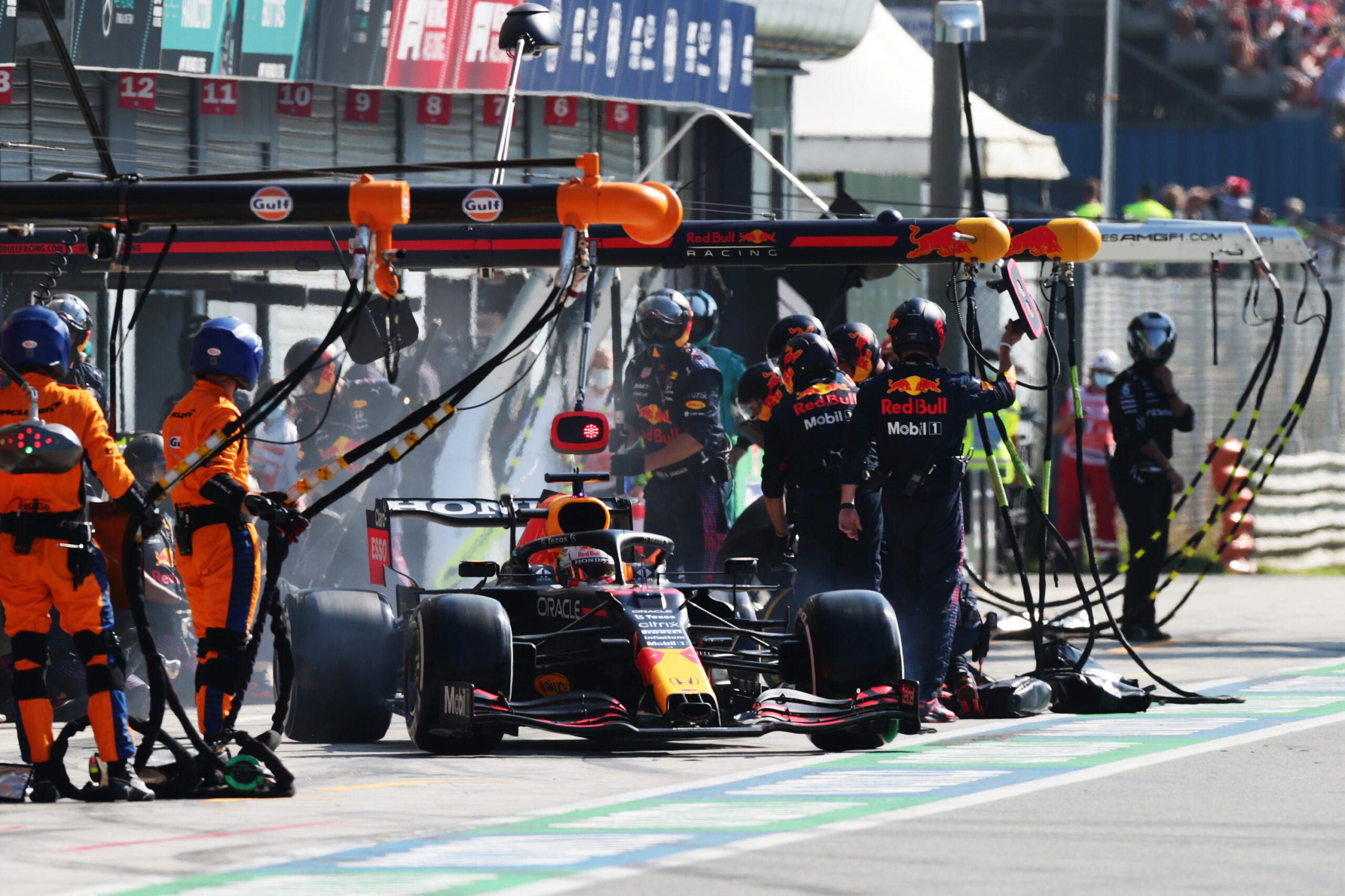 F1 - Red Bull confirme que l'arrêt au stand raté à Monza résulte de la directive de la FIA