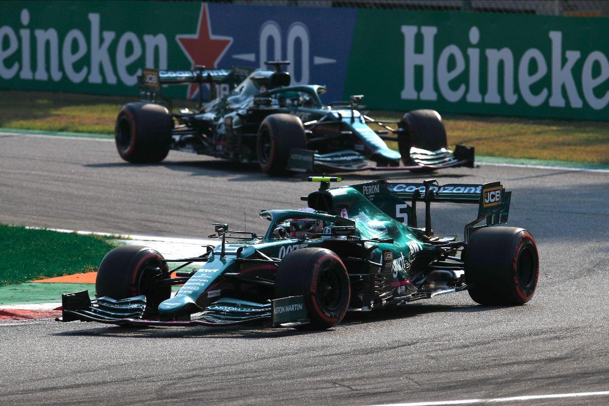 F1 - Vettel a bataillé en raison de fortes vibrations sur son Aston Martin