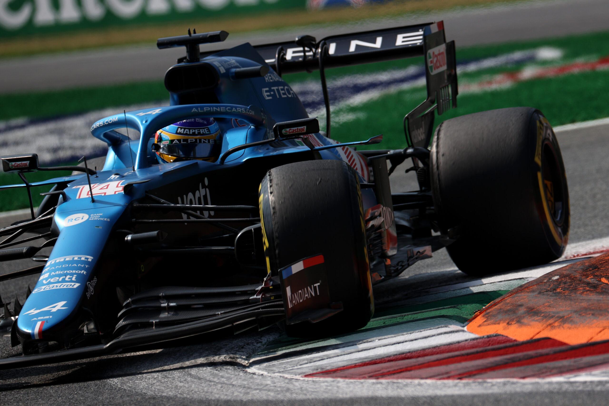 F1 - Une qualification sprint mitigée pour Alpine F1 à Monza