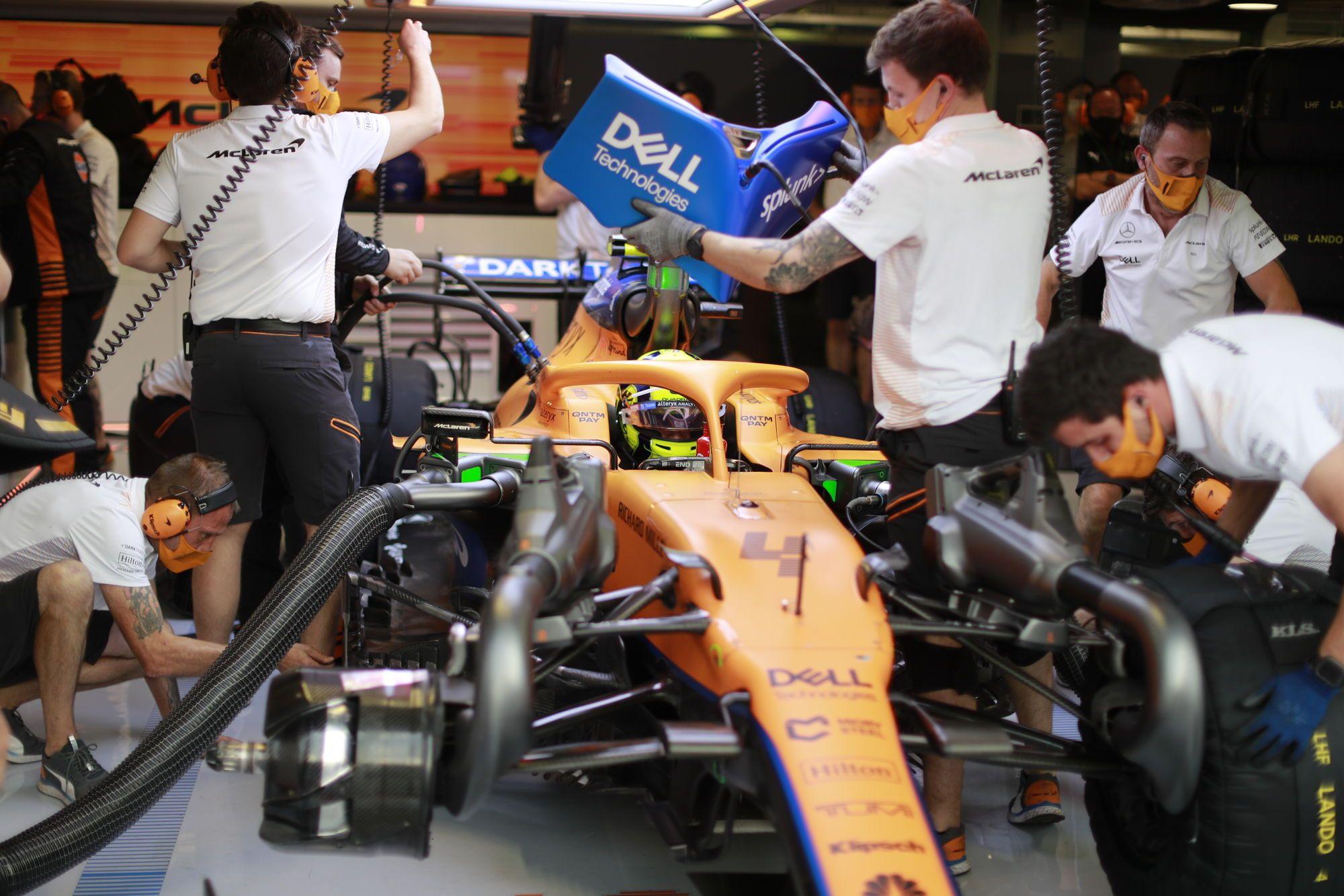 F1 - Une victoire de McLaren à Sotchi semble peu probable selon Norris