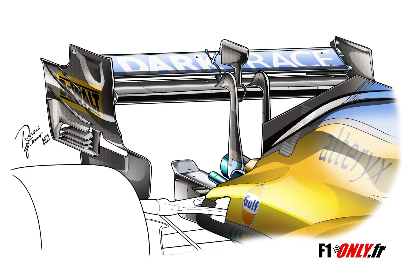 F1 - Technique F1 : comment McLaren a repris le dessus sur Ferrari à Monza
