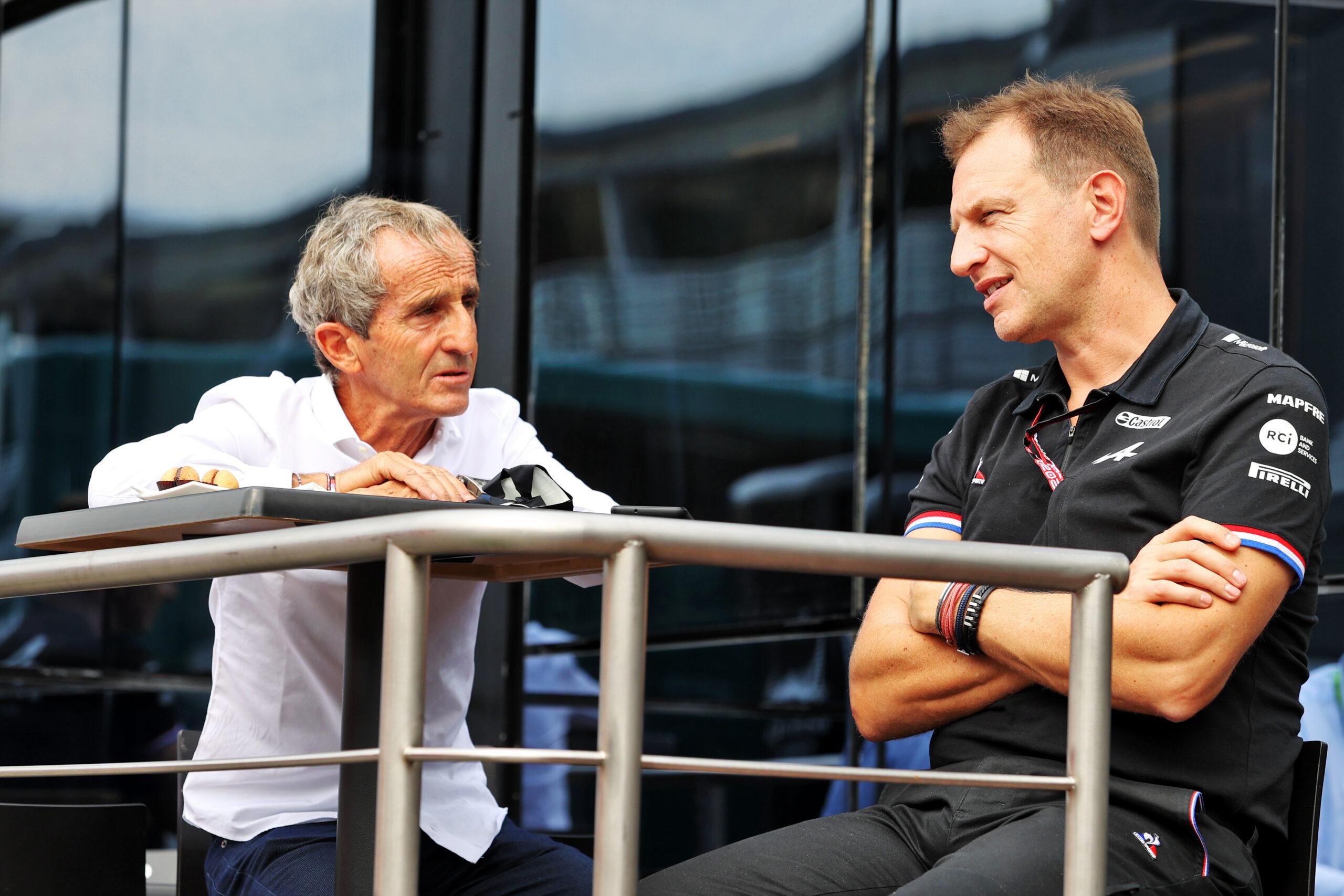 F1 - Alain Prost prône une F1 avec moins de courses et plus d'essais
