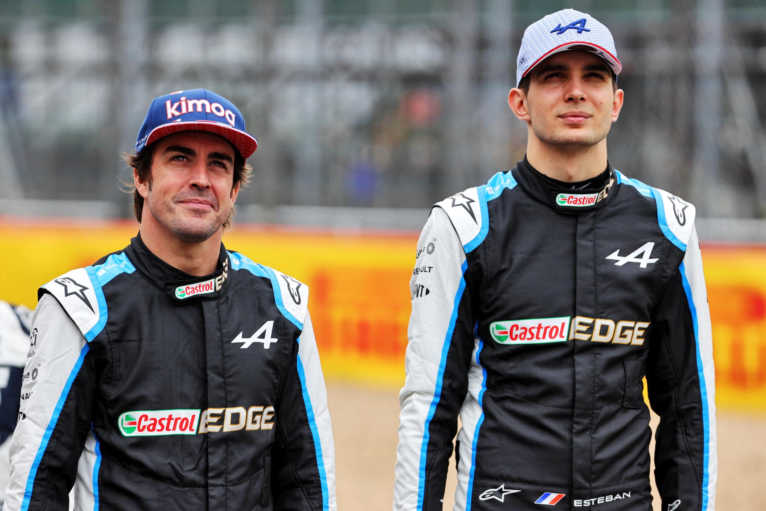 """F1 - Alpine F1 estime avoir le duo de pilotes """"le plus équilibré"""" de la grille"""