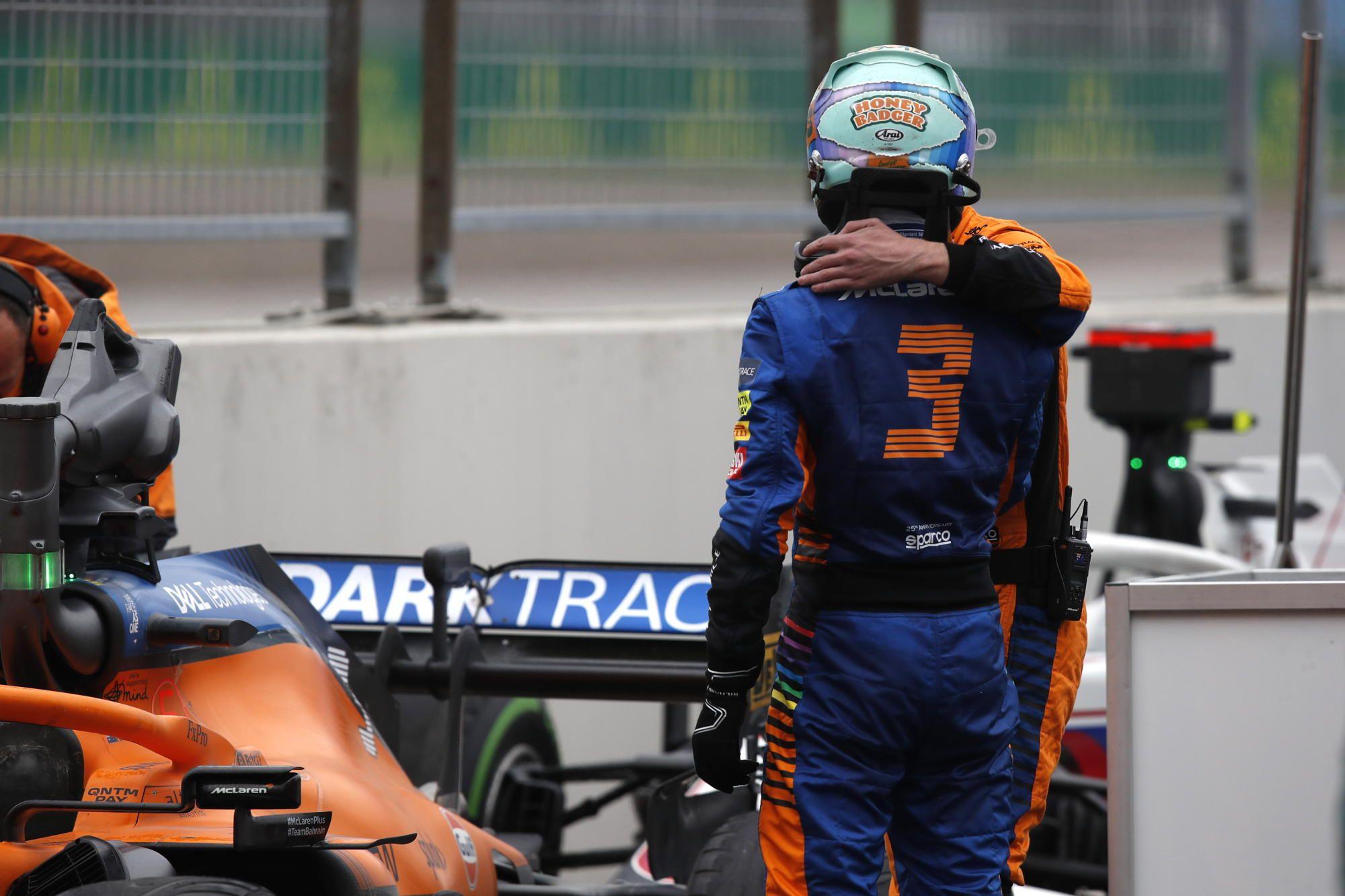F1 - Daniel Ricciardo a souffert durant toute la course en Turquie