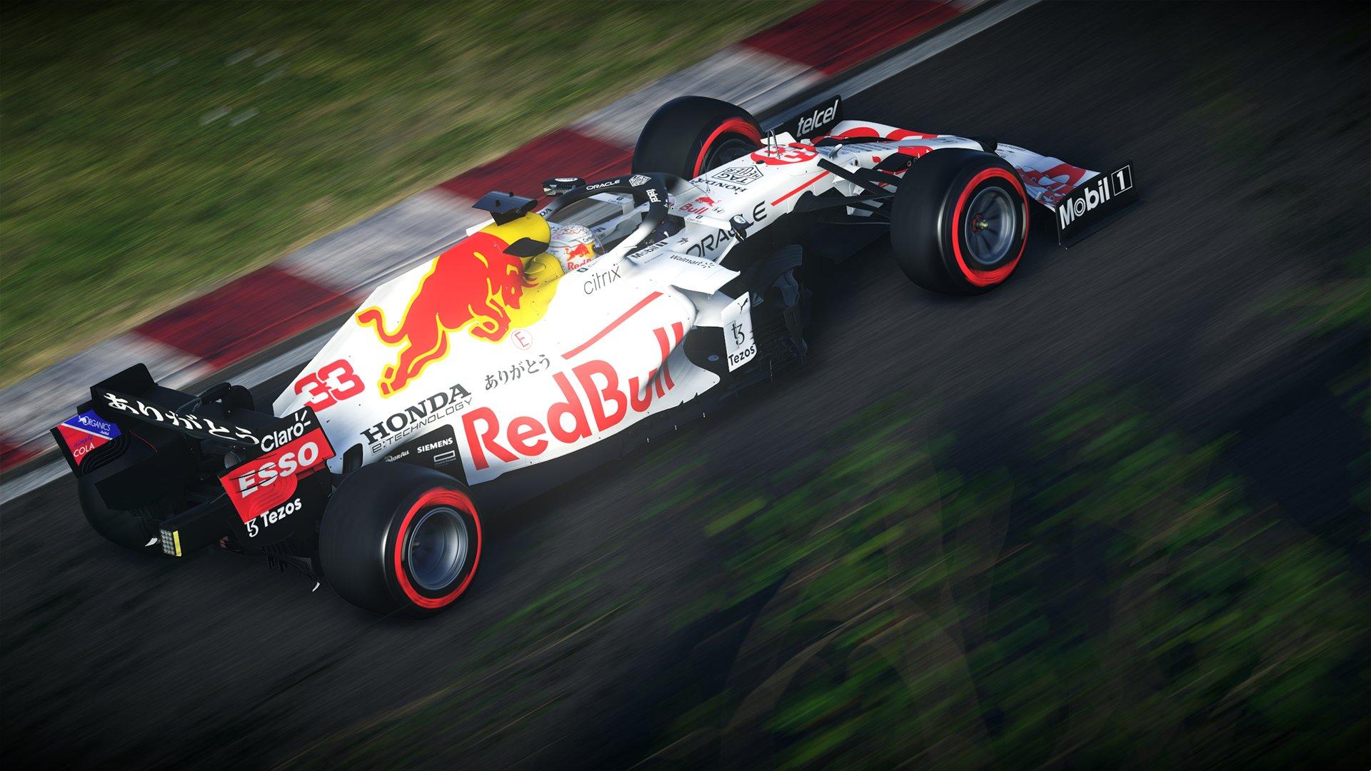 F1 - La livrée blanche de Red Bull et le circuit d'Imola dispos dans F1 2021
