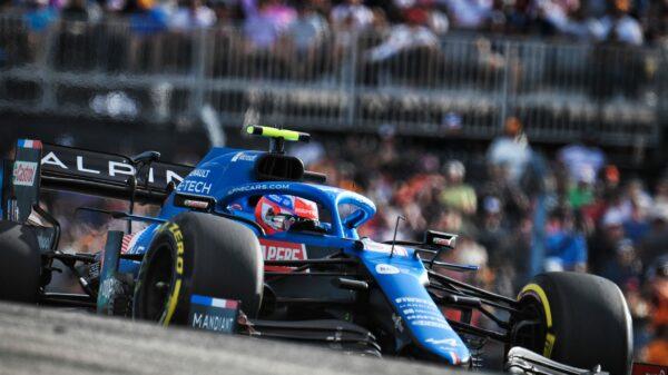 F1 - Ocon a loupé la Q3 de peu pour être resté en Mediums